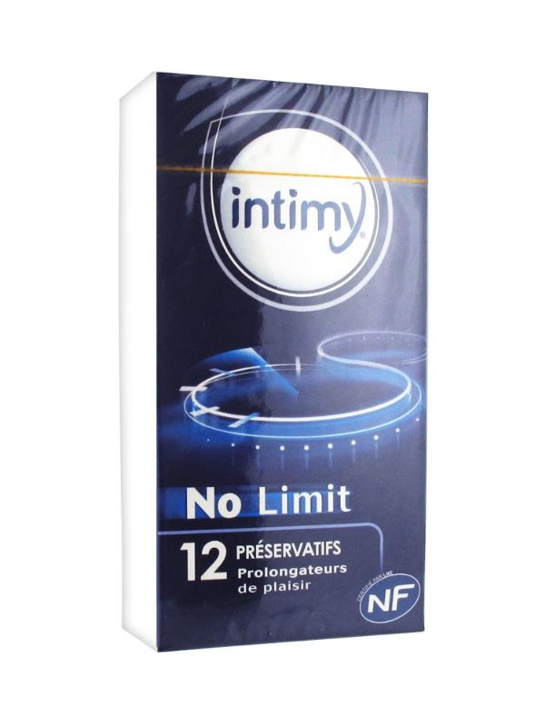 INTIMY PRESERVATIVOS NO LIMIT 12U