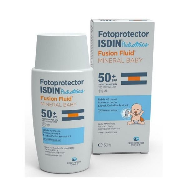 ISDIN PEDIATRIC IP50+ FUSION FLUID MINERAL BABY 50ML