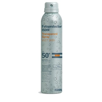 ISDIN WET SKIN SPRAY TRANSPARENT IP50 200ML