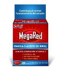 MEGARED OMEGA-3 ACEITE DE KRILL 60 CAPSULAS