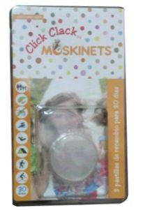 MOSKINETS RECAMBIOS PULSERA REPELENTE CLICK CLACK