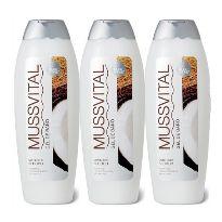 Mussvital gel de ducha de coco 750ml oferta 3 unidades