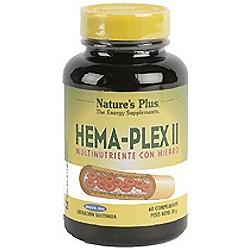 NATURES PLUS HEMA-PLEX II 60 COMP