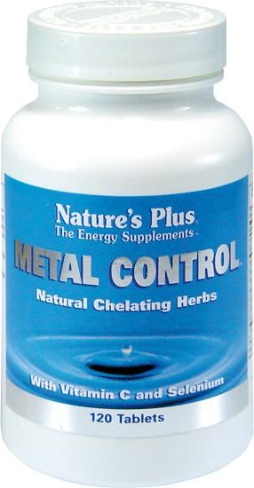 NATURES PLUS METAL CONTROL 120 COMPRIMIDOS