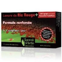 NATURES PLUS SANTE VERTE RED YEAST RICE 60 COMP.