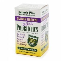 NATURES PLUS ULTRA PROBIOTICS 30 CAPS.