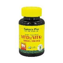 NATURES PLUS VITD3-VITK2 90 CAPSULAS