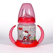 NUK BIBERON FIRST CHOICE HELLO KITTY SILICONA T2 L 150ML CON ASAS