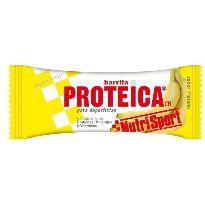 NUTRISPORT BARRITA PROTEICA PLATANO 46G