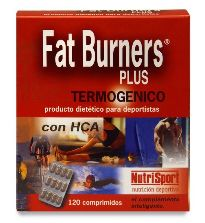 NUTRISPORT FAT BURNERS PLUS 120 COMPRIMIDOS