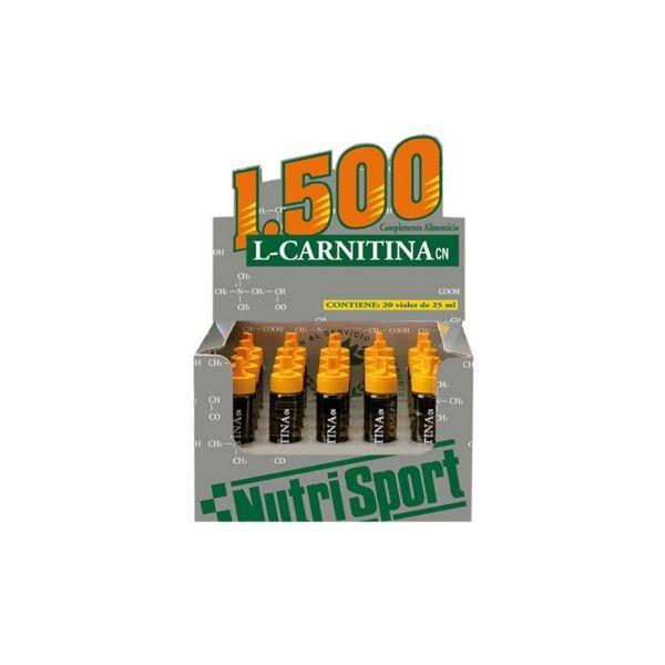 NUTRISPORT L CARNITINA 1500 1 VIAL NARANJA