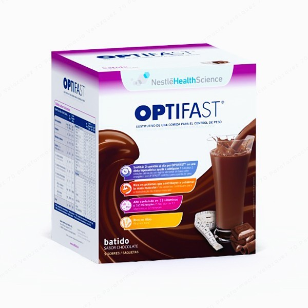 OPIFAST CHOCOLATE 9 SOBRES