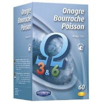ORTHONAT ONAGRE BOURRACHE POISSON 60 CAPSULAS