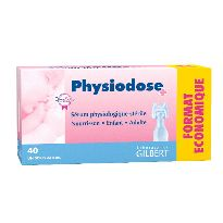SERUM PHYSIOLOGIQUE 40 UNIDOSES