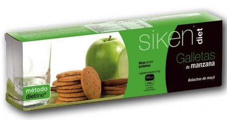 SIKENDIET GALLETAS MANZANA