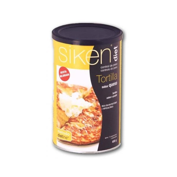 SIKENDIET TORTILLA DE QUESO 400GR