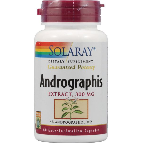 SOLARAY ANDOGRAPHIS 300MG 60 CAPSULAS