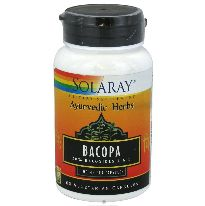 SOLARAY BACOPA 100MG 60 CAPSULAS