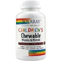 SOLARAY CHILDREN'S CHEWABLE 60 COMP. MASTICABLES