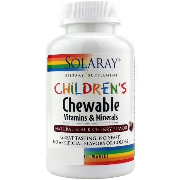 SOLARAY CHILDREN CHEWABLE 60 COMPRIMIDOS MASTICABLES