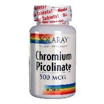 SOLARAY CHROMIUM PICOLINATO 500 MG 50 COMPRIMIDOS