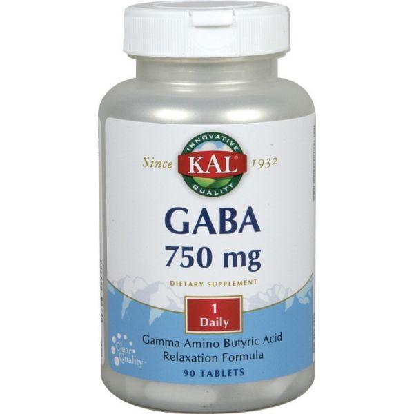 SOLARAY GABA 750MG 90 CAPS