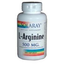 SOLARAY L-ARGININE 500MG 100 CAPSULAS