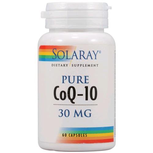SOLARAY PURE COQ-10 30 MG 30 CAPSULAS