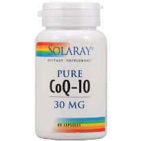SOLARAY PURE COQ-10 30 MG 30 CAPSULAS