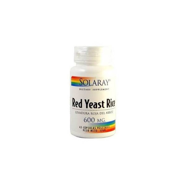 SOLARAY RED YEAST RICE 45 CAPSULAS