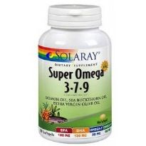SOLARAY SUPER OMEGA 3-7-9 120 CAPSULAS