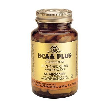 SOLGAR BCAA PLUS 50 CAPS