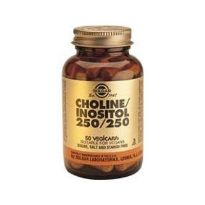 SOLGAR COLINA-INOSITOL 250MG 50 COMP