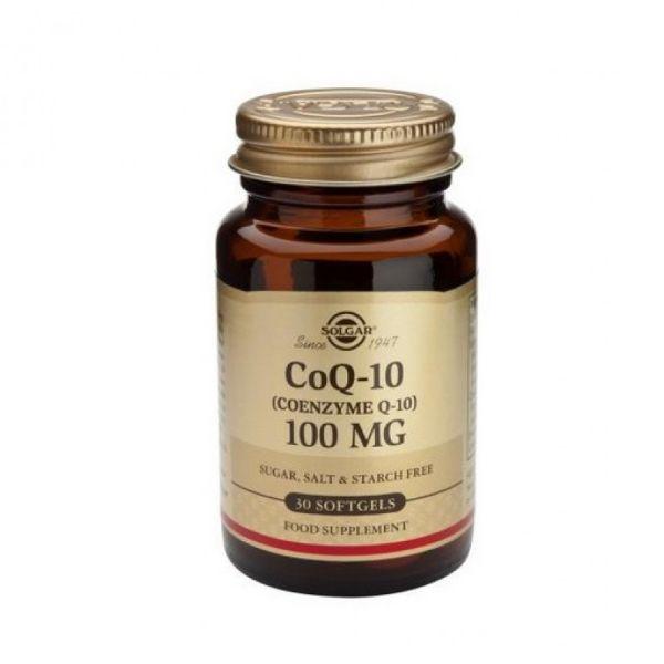 SOLGAR COQ-10 100 MG 30 CAPS.