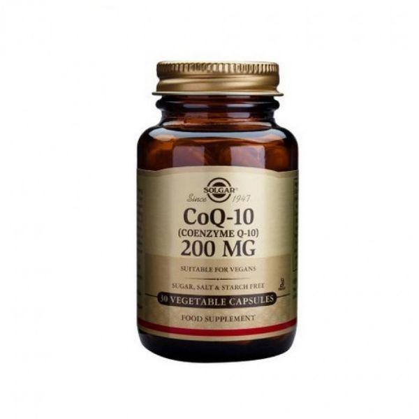 SOLGAR COQ-10 200MG 30 CAPS.