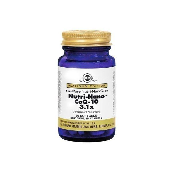 SOLGAR NUTRI NANO COQ-10 50 CAPS