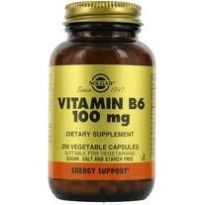 SOLGAR VITAMINA B6 100MG 100 CAPS