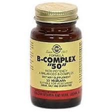 SOLGAR VITAMINA B COMPLEX 50 100 CAPS