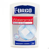 URGO APOSITOS WATERPROOF 20 UNIDADES