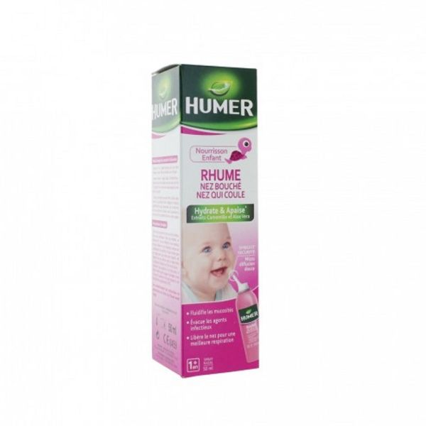 URGO HUMER RHUME ENFANT SPRAY NASAL 50ML