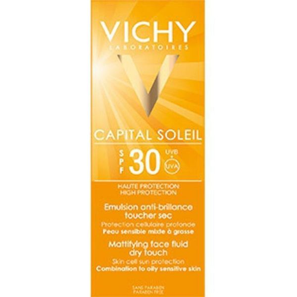 VICHY CAPITAL SOL IP30 EMULSION ANTI-BRILLANCE 50ML