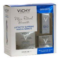VICHY LIFTACTIV SUPREME PNM 50ML Y CONTORNO OJOS 3ML Y CREMA NOCHE 15ML
