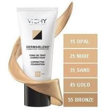 VICHY MAQUILLAJE DERMABLEND FLUIDO CORRECTOR N25 30ML
