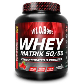 VITOBEST WHEY MATRIX 50-50 VAINILLA 910G