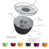 BARBACOA LOTUSGRILL PETITA COLORS ASSORTITS.PRESAT
