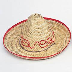 Sombrero paja mejicano infantil