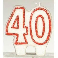 Vela cumpleaños 40 años