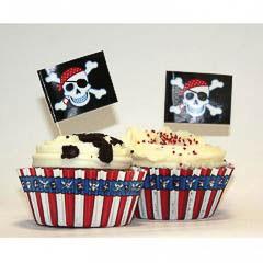 Decoración cupcakes, Pack 48 u.