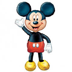 Globo cuerpo Mickey Mouse