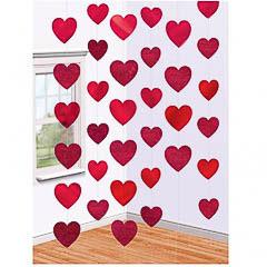 Tiras de corazones para colgar